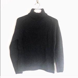 RL Mohair Wool Chunky Turtleneck Sweater